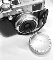 Fujifilm X100T front lens detail